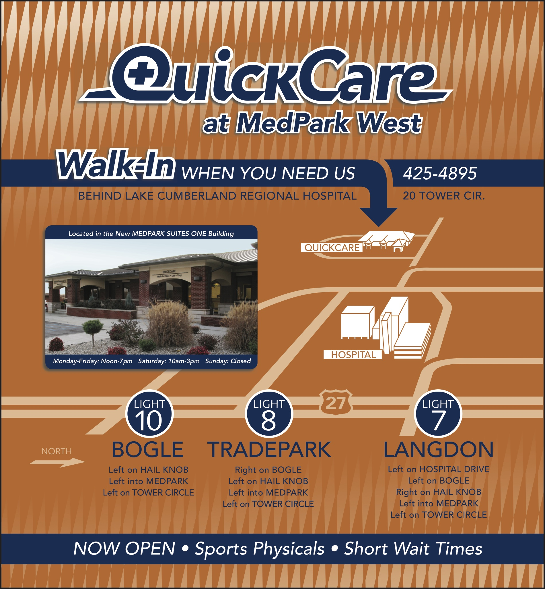 QuickCare At MedPark West Map Somerset Kentucky